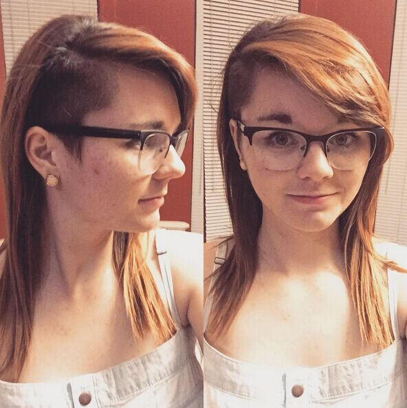 Astounding 30 Awesome Undercut Hairstyles For Girls 2017 Hairstyle Ideas Short Hairstyles Gunalazisus