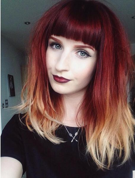 Super 28 Hot Red Hair Color Ideas For 2016 Pretty Designs Short Hairstyles Gunalazisus