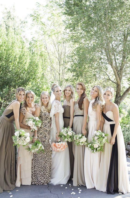 387a8b640de 27 Fantastic Bridesmaid Dress Color Ideas - Pretty Designs