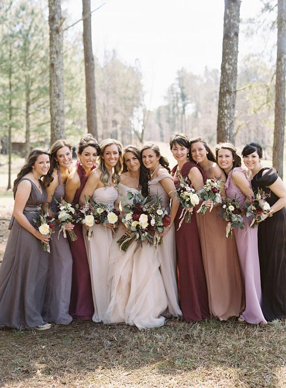 Mix colored Dresses