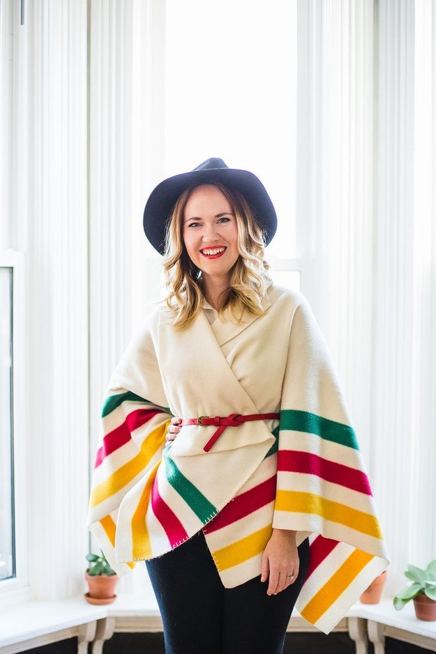 No Sew Sweater Wrapper 20 Warm Projects To Make Before Winter Pretty Designs