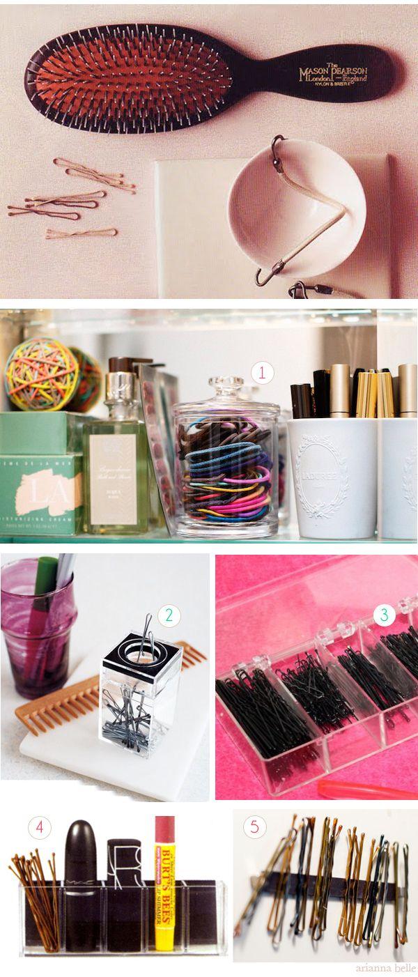 Pins and Hair Elastics Organizer