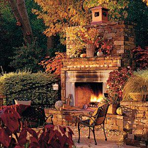 Pretty Backyard Idea