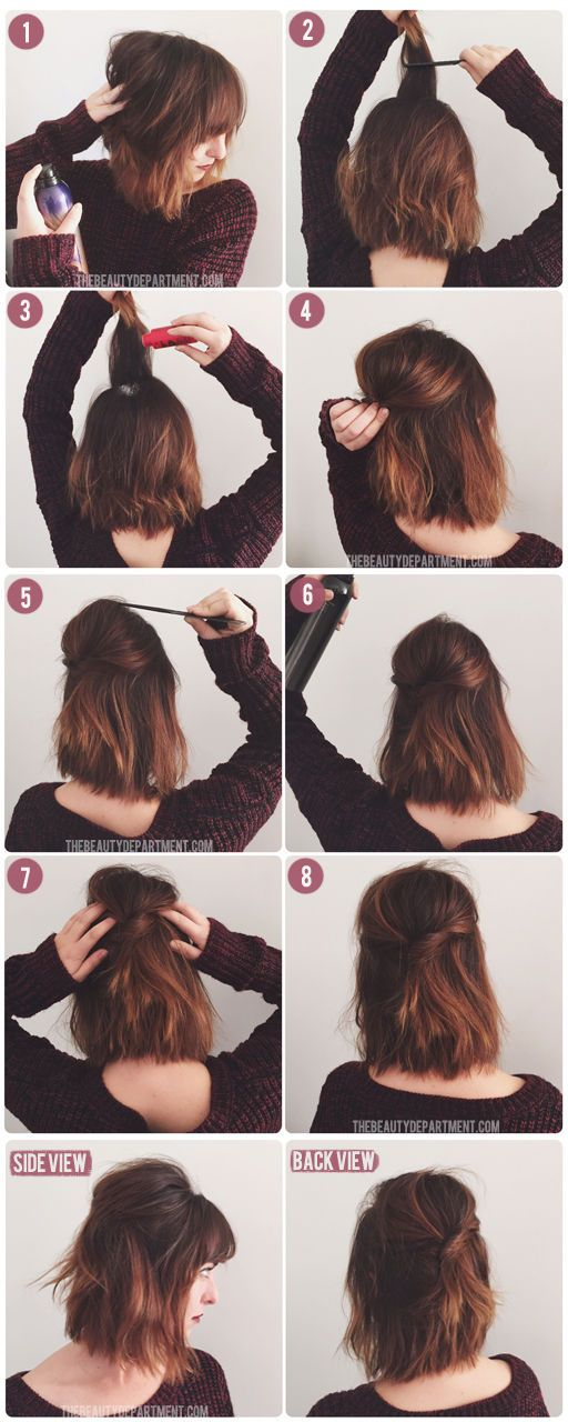 15 Hair Tutorials To Style Your Hair Pretty Designs