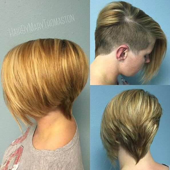 Short Shaved Hairstyle