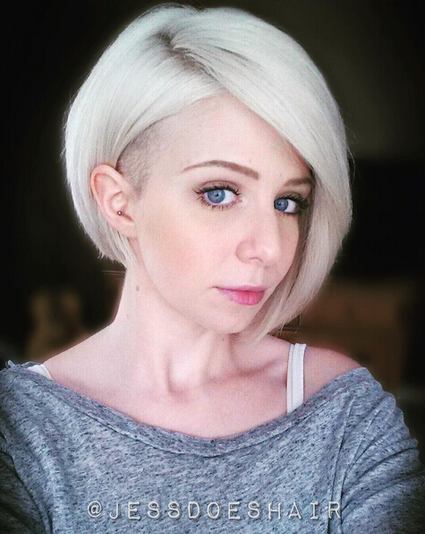 Short Undercut Bob Hairstyle
