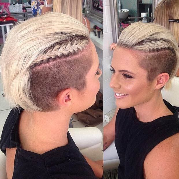 Awesome 30 Awesome Undercut Hairstyles For Girls 2017 Hairstyle Ideas Short Hairstyles Gunalazisus
