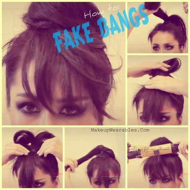 Stylish Bangs