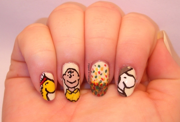 Thanksgiving Day Nails
