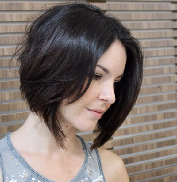 A-Line Bob Hairstyle for Fine Hair