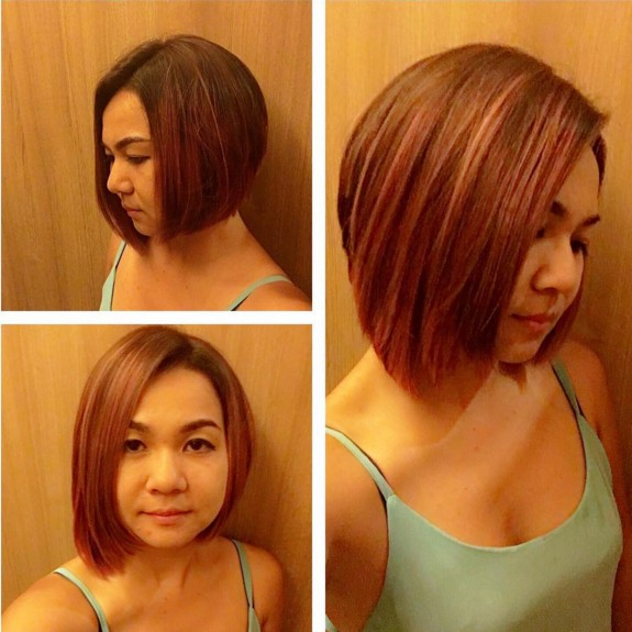 A-Line Bob Hairstyle for Straight Hair