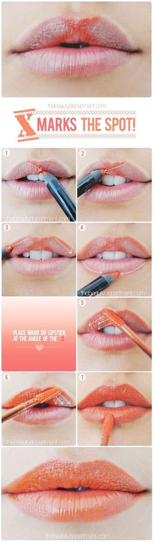 A Little Lip Trick