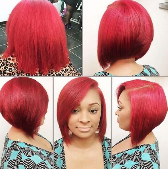 Brilliant 22 Cool Hairstyles For African American Women Pretty Designs Short Hairstyles Gunalazisus