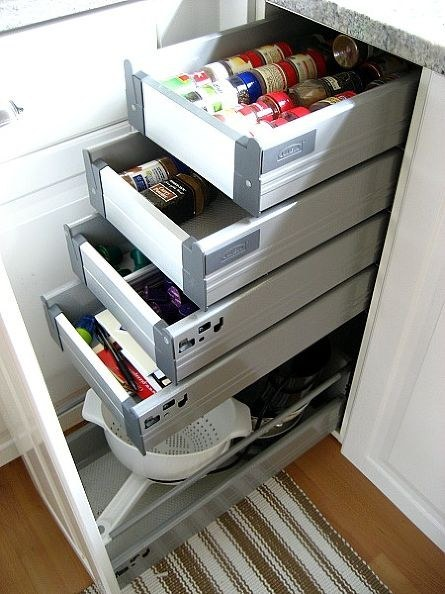 Add More Pullout Shelves