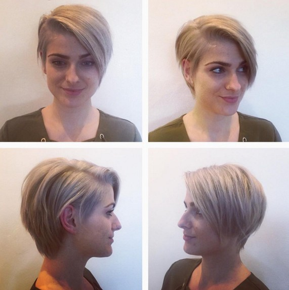 Asymmetric Short Hairstyle