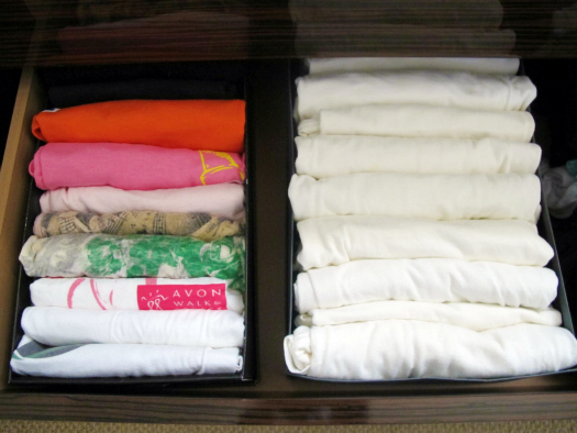 Boxes as Drawer Organizers