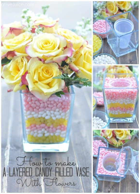 Candy Filled Vases