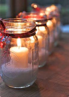 Christmas Candle Gift