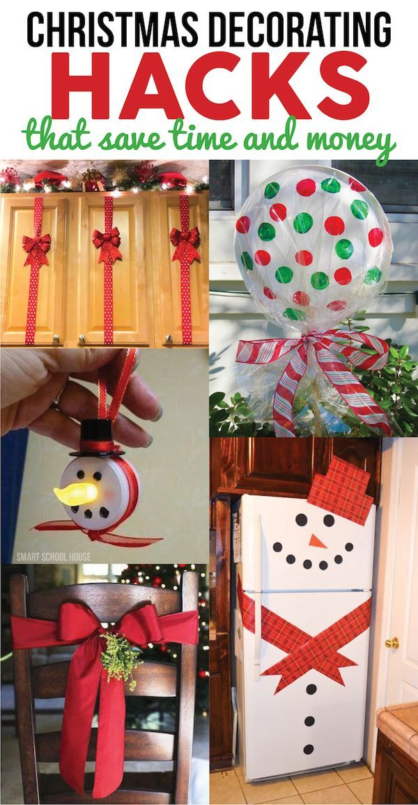 Inexpensive Office Christmas Party Ideas Part - 46: Christmas Decorating Hacks