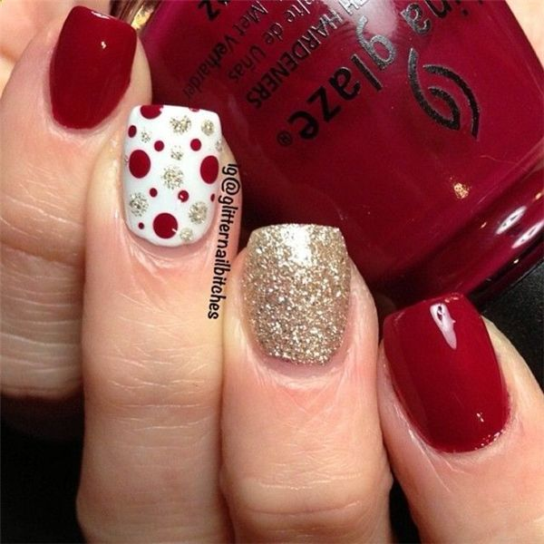 25 Christmas Nail Ideas to Try - Pretty Designs