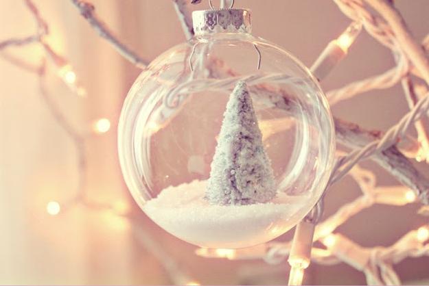 christmas tree glass ornaments - Glass Decorations