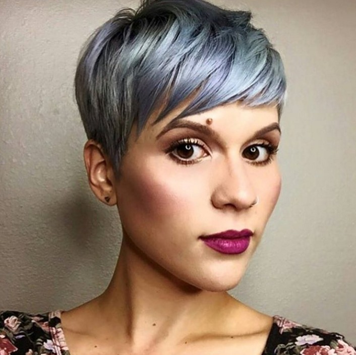 Back View Of Short Buzzed Hairstyles For Women Photo | Short Hairstyle ...