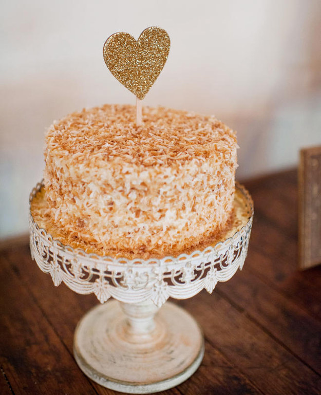 Coconut-covered Cake