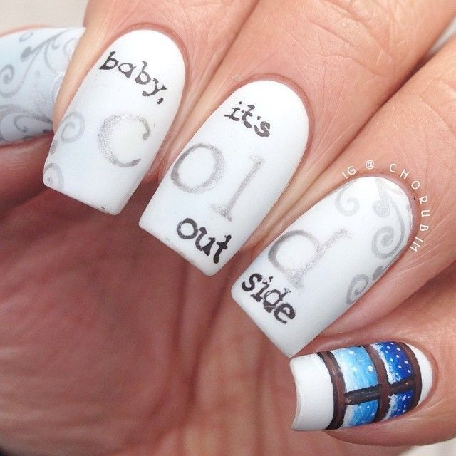 Cold Outside Nails