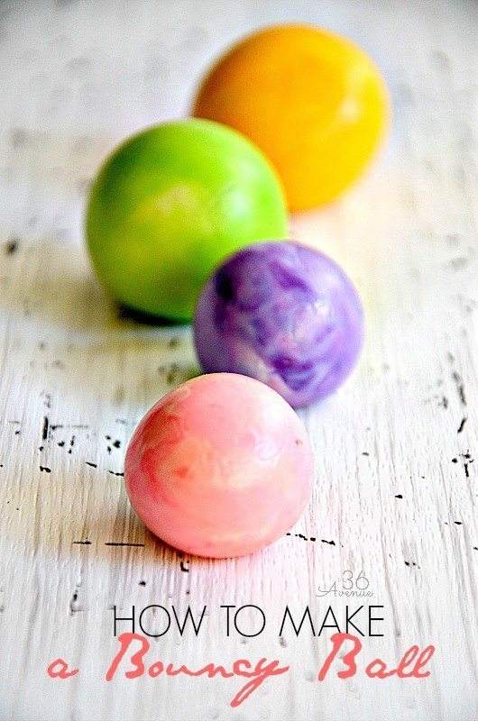 Colorful Bouncy Balls