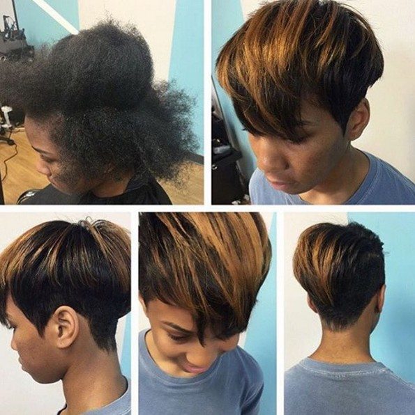Pleasing 22 Cool Hairstyles For African American Women Pretty Designs Hairstyle Inspiration Daily Dogsangcom