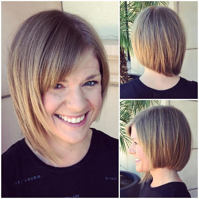 21 adorable asymmetrical bob hairstyles pretty designs cute asymmetrical bob hairstyle with bangs solutioingenieria Images