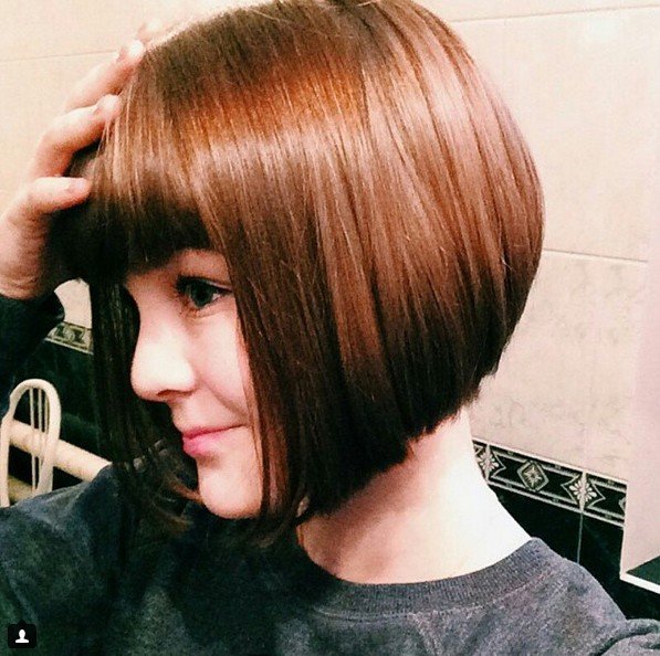 Astounding 22 Cute Amp Classy Inverted Bob Hairstyles Pretty Designs Hairstyles For Women Draintrainus