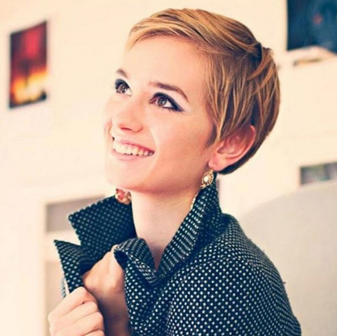 21 Flattering Pixie Haircuts for Round Faces Pretty Designs