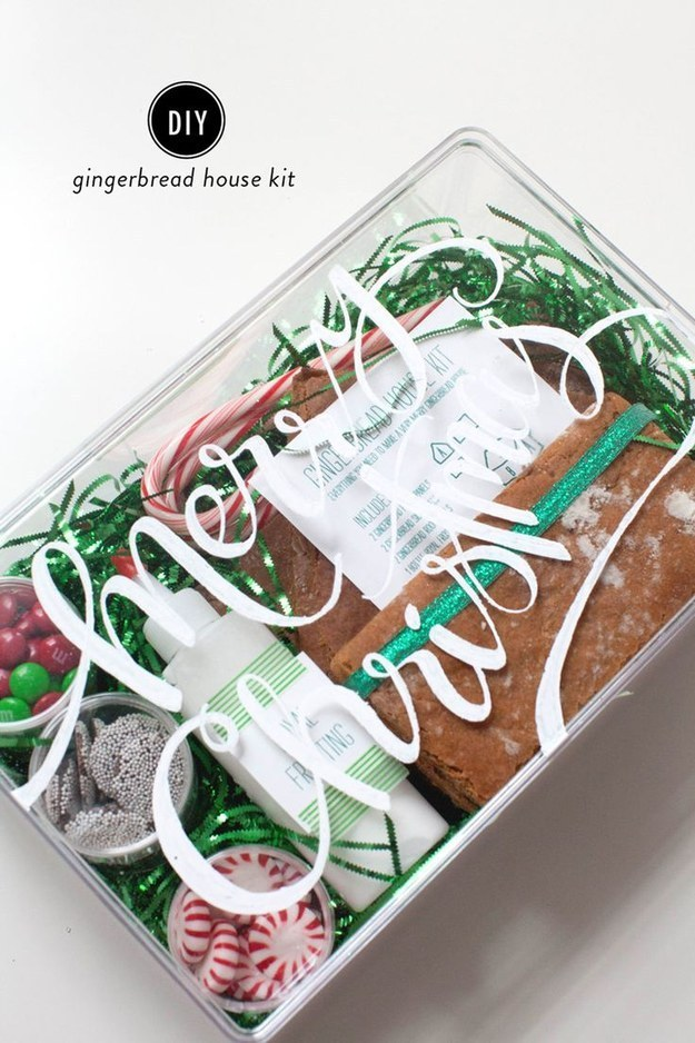 DIY Gingerbread House Kit