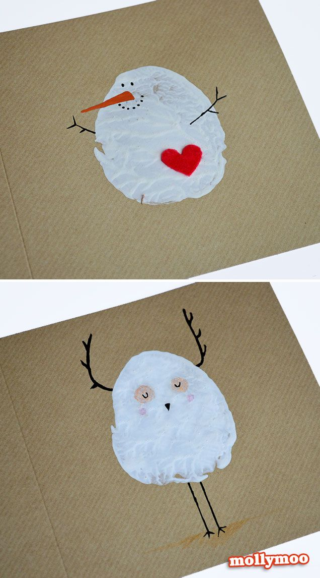 Snowman Christmas Cards Ideas.23 Creative Ways To Make Christmas Cards Pretty Designs