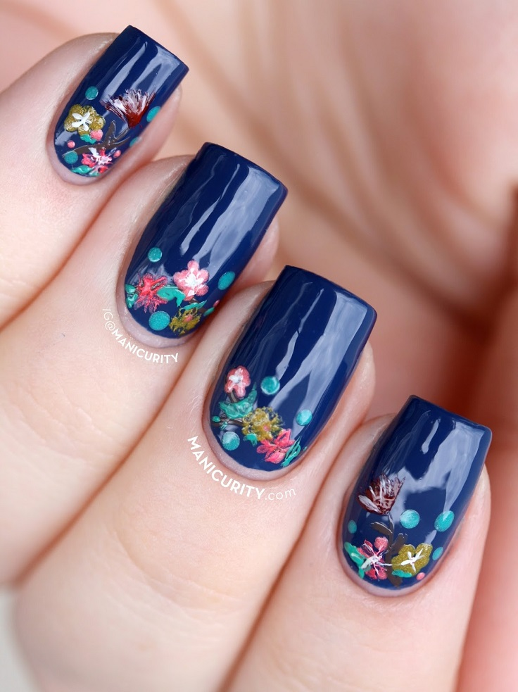 20 Floral Nails You Must Try for Spring - Pretty Designs