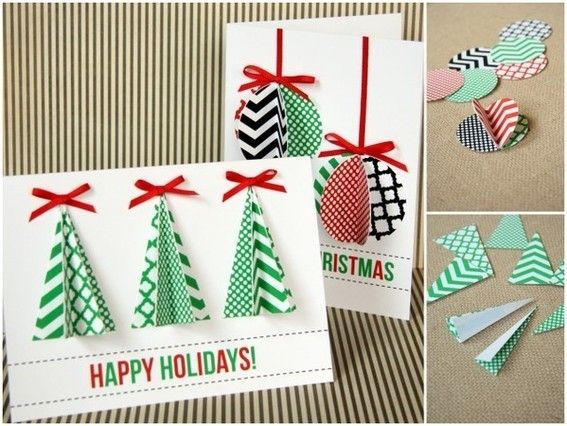 23 Creative Ways To Make Christmas Cards Pretty Designs