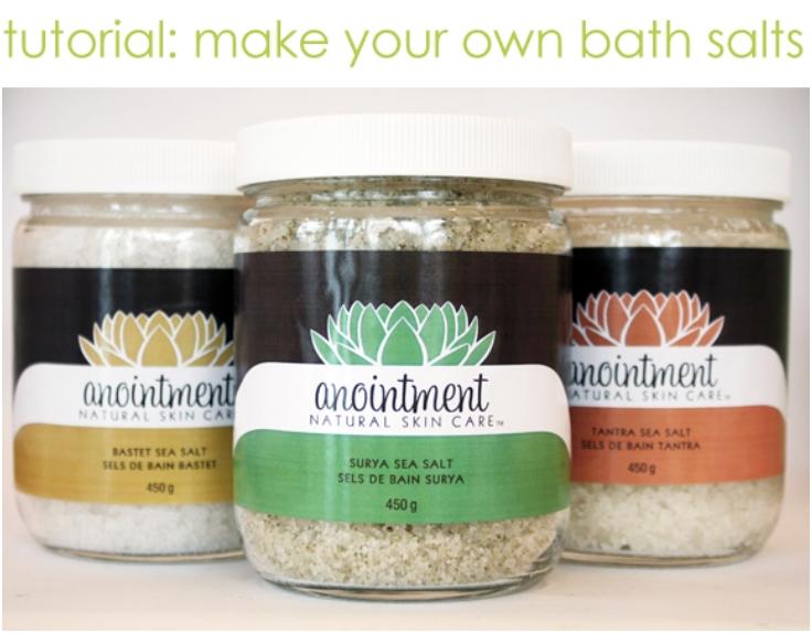 Essential Oil Bath Salts