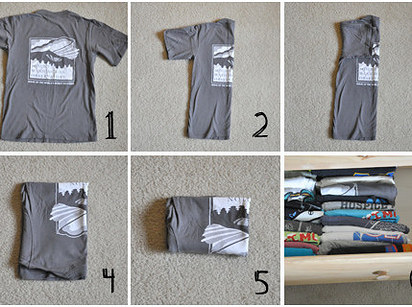 Fold Your T-shirts
