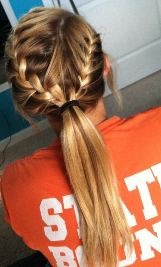 Terrific 16 Classic French Braid Hairstyles For Girls 2017 Pretty Designs Hairstyle Inspiration Daily Dogsangcom