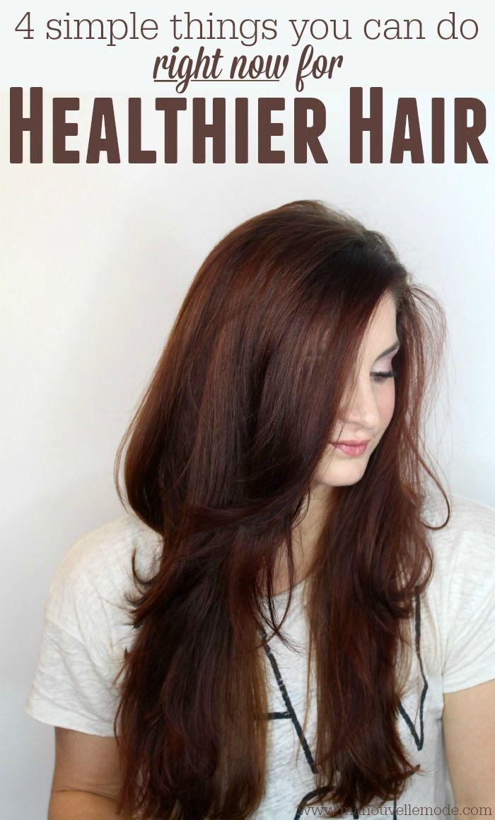 Get Healthier Hair