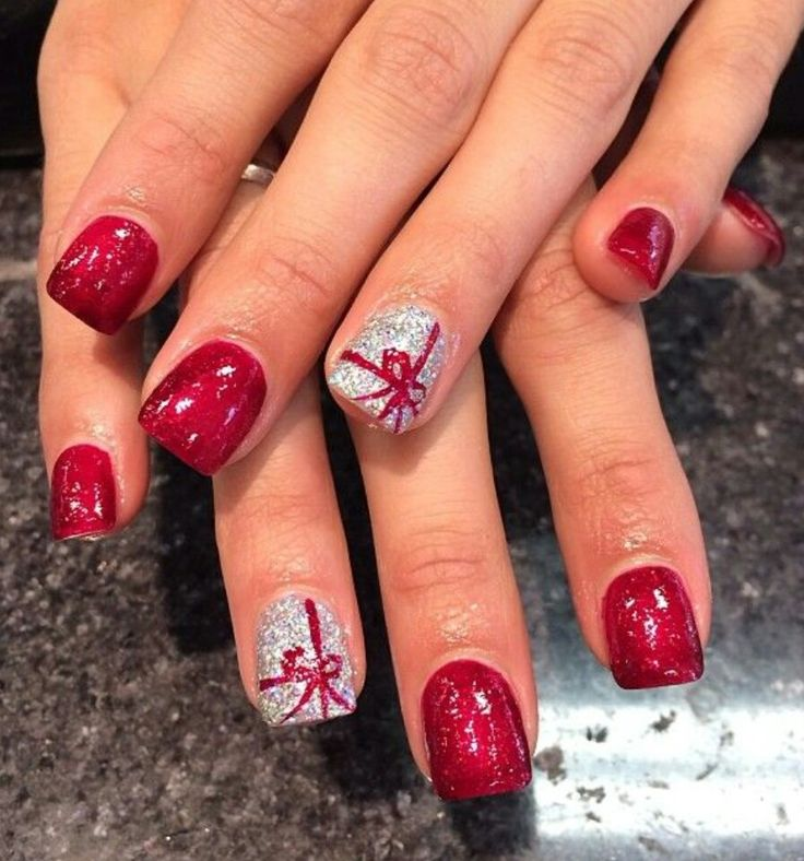 Gift Inspired Nails