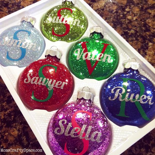 Glitter Ornaments