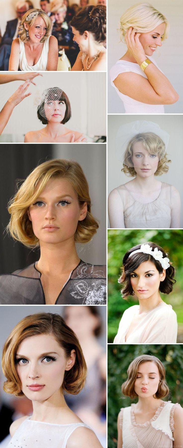 Glorious Wedding Hairstyles for Medium Hair