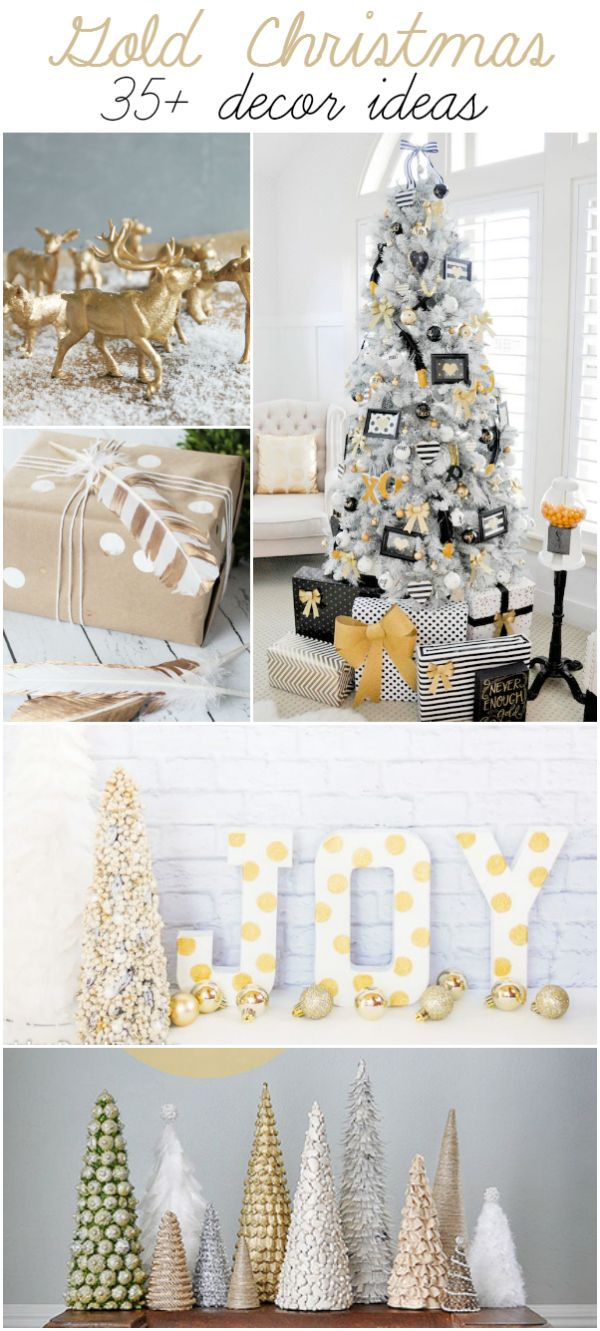 Gold Christmas Projects