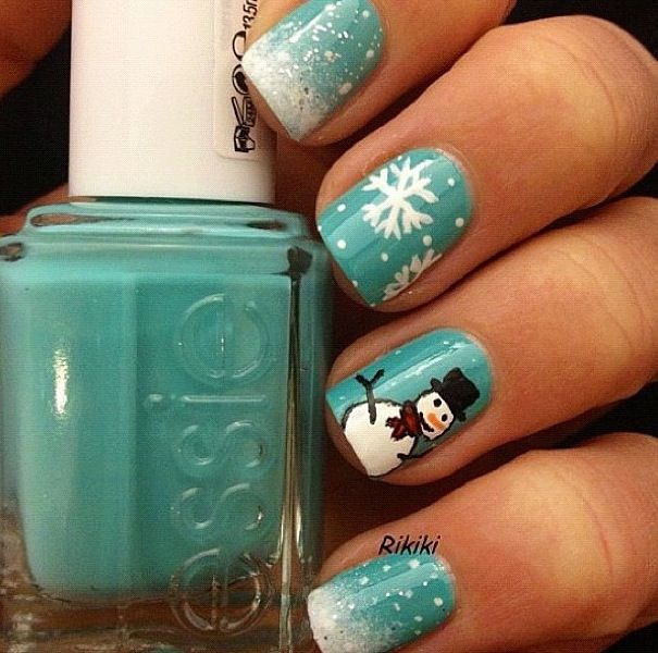 Gorgeous Winter Inspired Nail