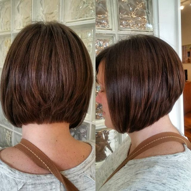 Graduated-Bob-Hair-styles- Pretty Designs