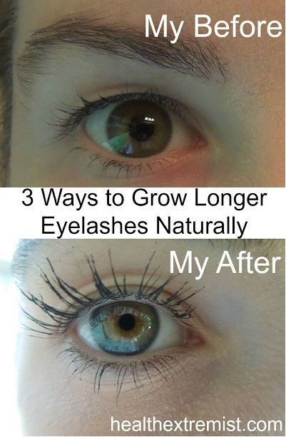 Grow Your Eyelashes Naturally