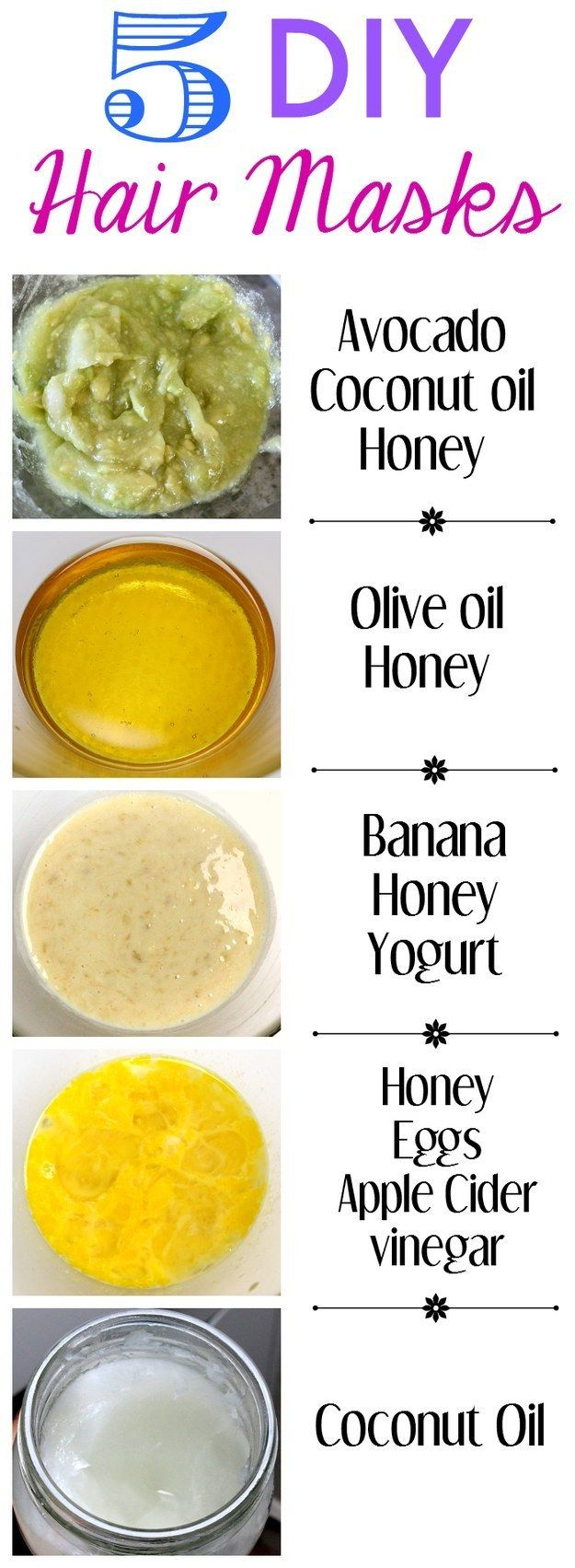 Homemade Hair Masks 1