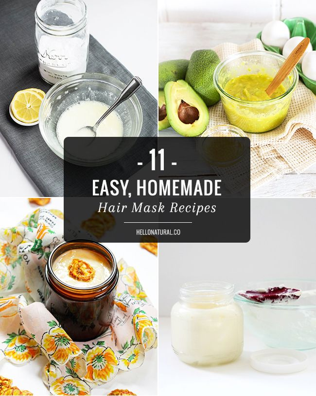 Homemade Hair Masks 14